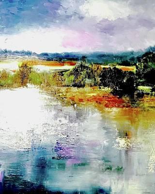 Cloudscape Painting - Cloudgate 3 by Julia S Powell