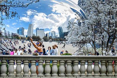 Photograph - Cloudgate Selfie by John McArthur