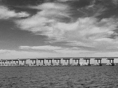 Photograph - Clouding The Bridge by Amanda Vouglas