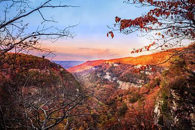 Photograph - Cloudland Canyon by Debra and Dave Vanderlaan