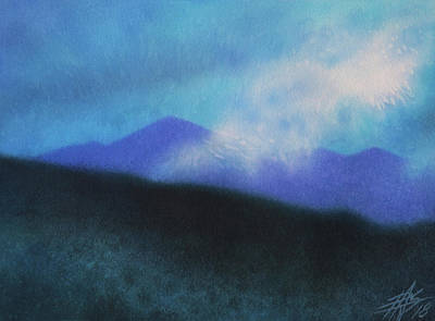 Painting - Cloudline IIi by Robin Street-Morris