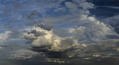 Photograph - Clouds 2 by Rick Mosher