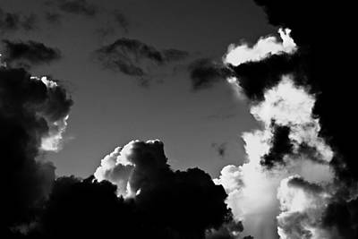 Clous Photograph - Clouds-2--st Lucia by Chester Williams