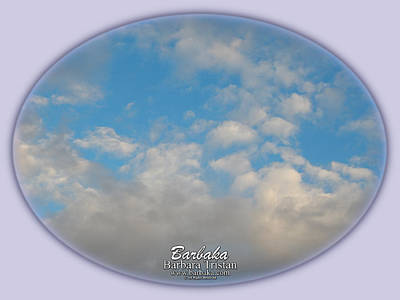 Photograph - Clouds #4030 by Barbara Tristan