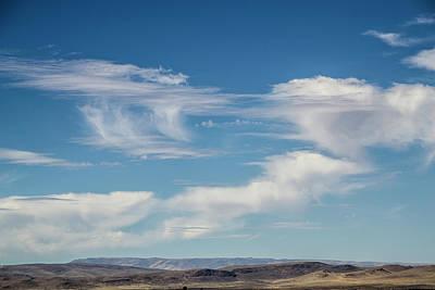 Target Threshold Watercolor - Clouds 8 by Karen W Meyer