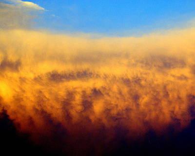 Clouds Ablaze Art Print by Marty Koch