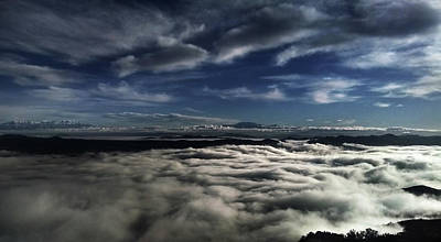 Photograph - Clouds Above And Below by Richard Stephen