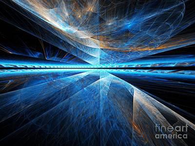 Digital Art - Clouds Above by Michal Dunaj