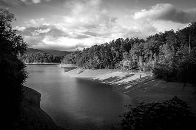 Photograph - Clouds Above The Nantahala River In Nc by Kelly Hazel
