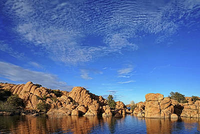 Photograph - Clouds Above Watson Lake by Theo O'Connor