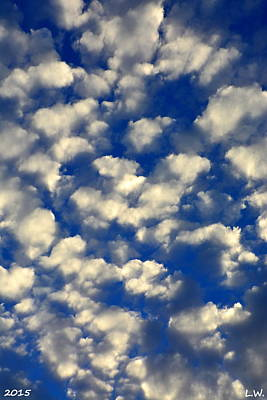 Photograph - Clouds Abstract by Lisa Wooten
