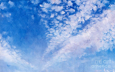 Painting - Clouds  by Celestial Images