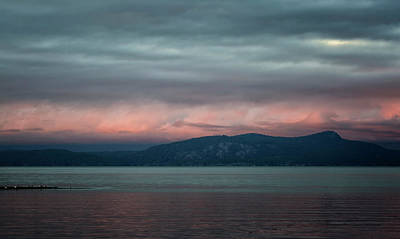 Photograph - Clouds All Aglow by Randy Hall