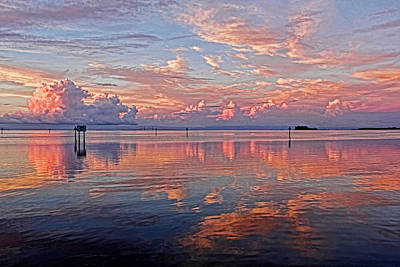 Photograph - Clouds - Almost Heaven by HH Photography of Florida