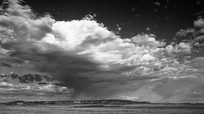Clouds Along Indian Route 13 Art Print