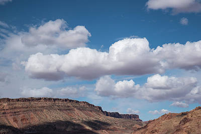 Photograph - Clouds And Mesas In Utah Springtime by Tom Cochran