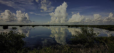 Photograph - Clouds And Reflections by Dorothy Cunningham