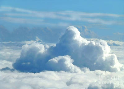 Digital Art - Clouds And Sky M2 by Francesca Mackenney