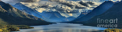 Photograph - Clouds And Sun Beams by Adam Jewell