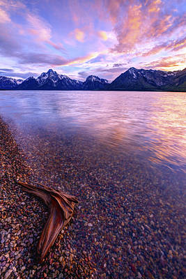 Grand Tetons Wall Art - Photograph - Clouds And Wind by Chad Dutson