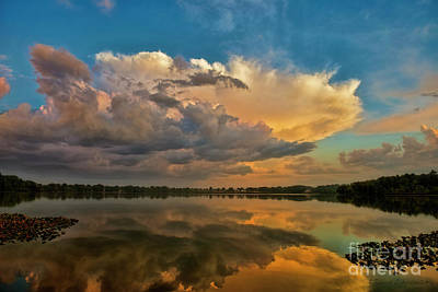 Photograph - Clouds At Daybreak by David Arment