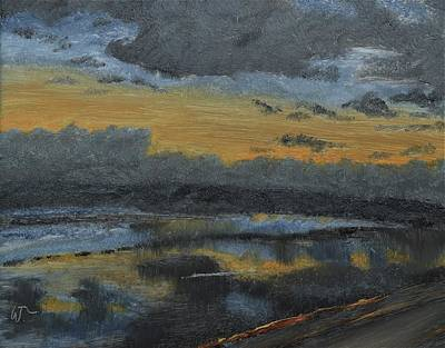 Painting - Clouds At Sunrise  by Warren Thompson