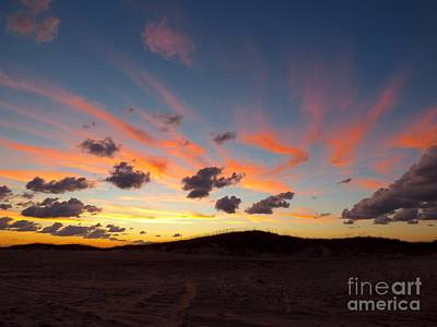 Photograph - Clouds At Sunset by Jean Wright