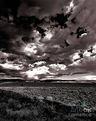 Photograph - Clouds At Sunset X by Charles Muhle
