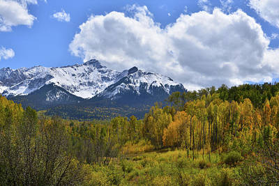 Photograph - Clouds Build Over San Juan Mountains by Ray Mathis