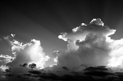 Photograph - Clouds Building by Norchel Maye Camacho