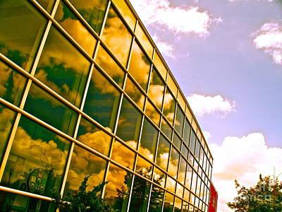 Clouds Do Talk Art Print by Chuck Taylor