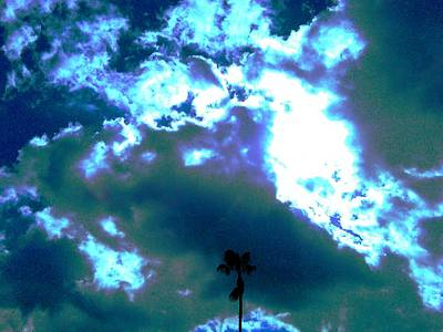 Clouds Art Print by Douglas Kriezel