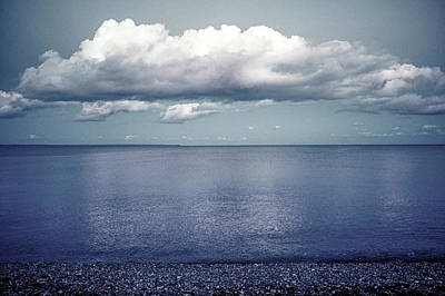 Photograph - Clouds Gather Over Cornwall  by Christopher Rees
