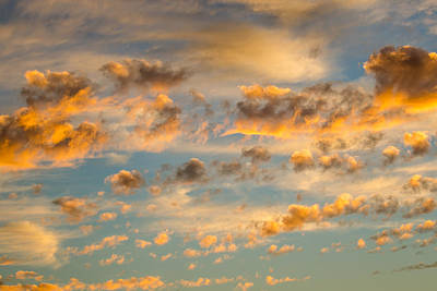 Photograph - Clouds  by James Barber