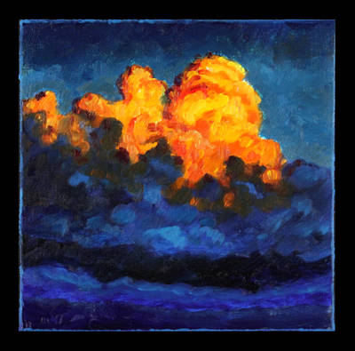 Painting - Clouds Image One by John Lautermilch
