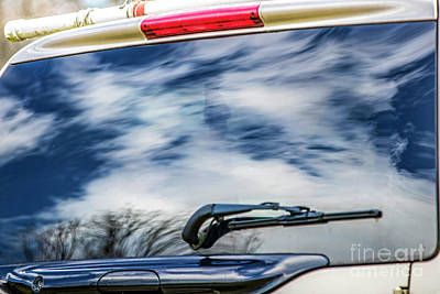 Photograph - Clouds In My Rear Windshield 5489ct by Doug Berry