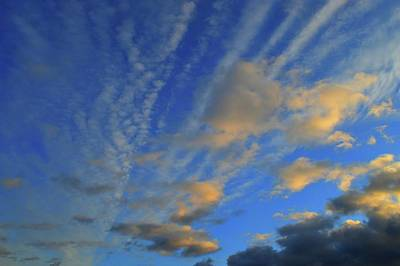 Photograph - Clouds In The Light  by Lyle Crump