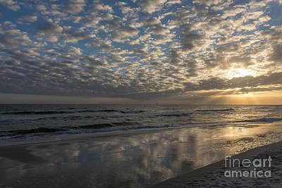 Photograph - Clouds In The Sand by Tim Sevcik