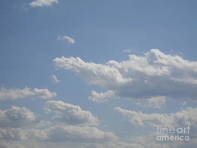 Clouds In The Sky One Art Print by Daniel Henning