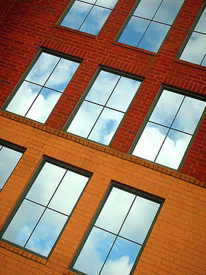 Clouds In The Windows Art Print