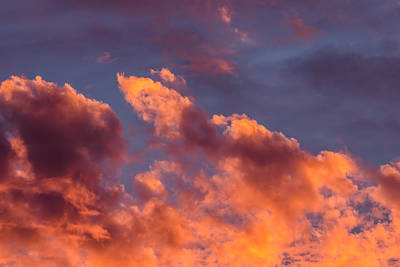 Photograph - Fire In The Sky by James Barber