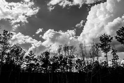 Photograph - Clouds by James L Bartlett