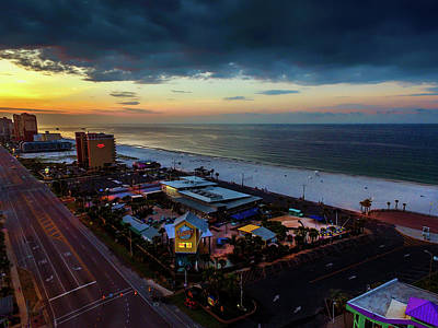 Photograph - Clouds Moving Into Gulf Shores by Michael Thomas