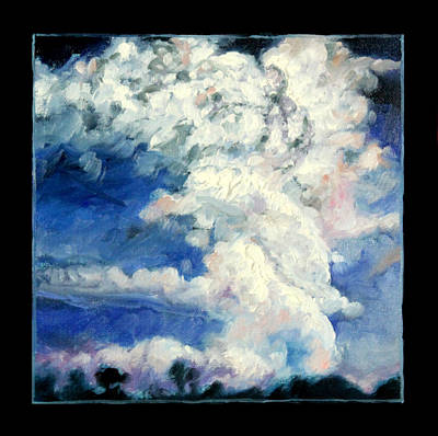 Storm Clouds Painting - Clouds Number Eleven by John Lautermilch