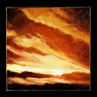 Painting - Clouds Number Nine by John Lautermilch