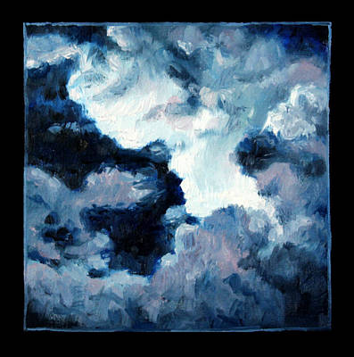 Storm Clouds Painting - Clouds Number Ten by John Lautermilch