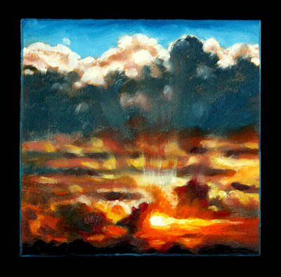 Painting - Clouds Number Twelve by John Lautermilch