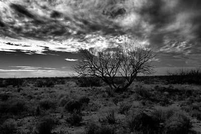 Nirvana - Clouds over Jal New Mexico by Jeff Swan