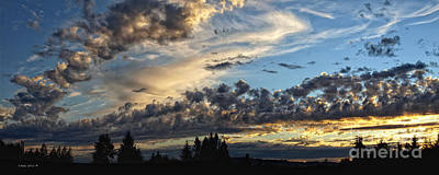 Photograph - Clouds Of Oregon by Shari Nees