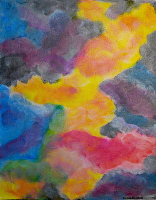 Painting - Clouds Of Venus by Gina Nicolae Johnson